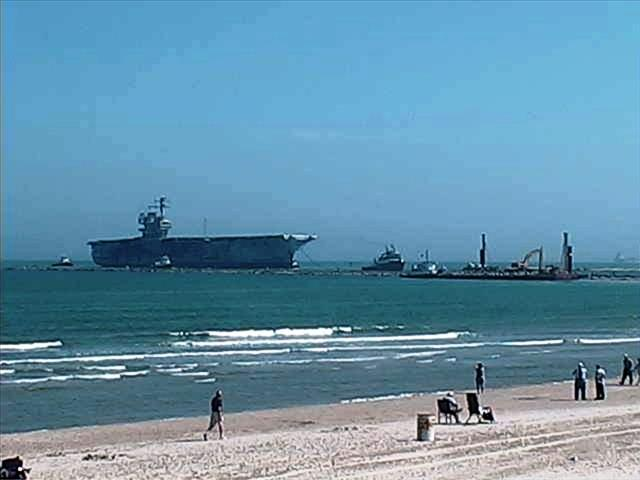 STATUS OF USS FORRESTAL: AVT-59 Feb 18 2014 arriving 4