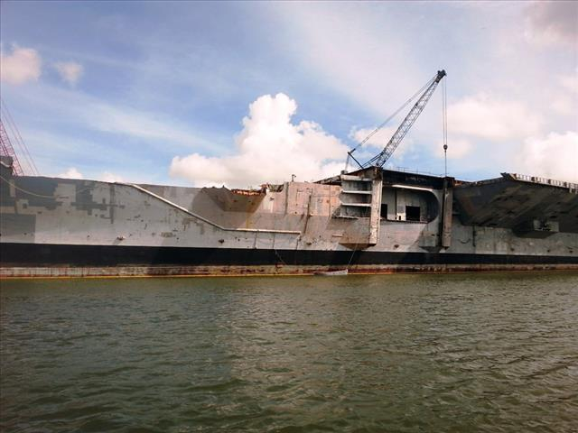 STATUS OF USS FORRESTAL: AVT-59 Brownsville, TX Sept 20 2014 1