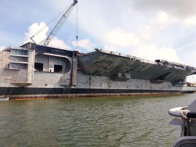 STATUS OF USS FORRESTAL: AVT-59 Brownsville, TX Sept 20 2014 3